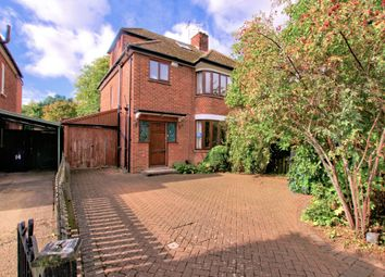 Thumbnail 4 bed semi-detached house for sale in Thornton Road, Girton, Cambridge