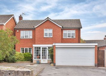 Thumbnail 4 bed detached house for sale in Back Lane, Thrussington, Leicester