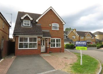 Thumbnail 3 bed detached house for sale in Willow Holt, Hampton Hargate, Peterborough