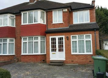 Thumbnail 5 bed semi-detached house to rent in Bromefield, Stanmore