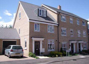 Thumbnail 3 bed end terrace house for sale in Montagu Drive, Saxmundham, Suffolk