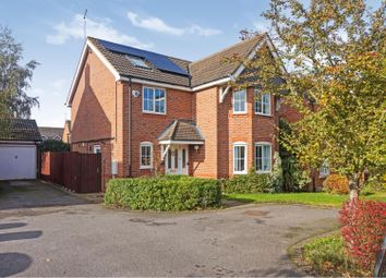 Thumbnail 6 bed detached house for sale in Wake Way, Grange Park, Northampton