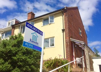 Thumbnail 2 bed flat to rent in Beacon Lane, Exeter