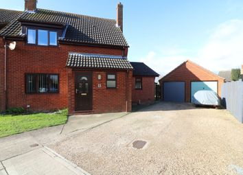 Thumbnail 3 bed semi-detached house for sale in Martins Meadow, Gislingham, Eye