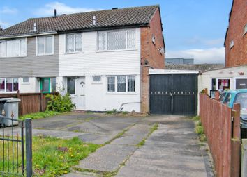 Thumbnail 3 bed semi-detached house for sale in Barnes Road, Skegness, Lincs