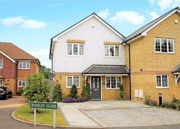 Thumbnail 4 bed link-detached house for sale in Crossley Close, Biggin Hill, Westerham