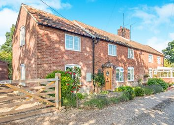 Thumbnail 4 bed cottage for sale in The Loke, Witton, North Walsham