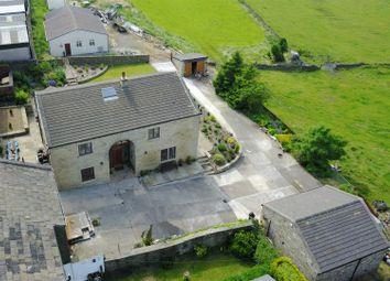 Thumbnail 4 bedroom detached house for sale in Calder Bank Farm, Calder Banks, Queensbury