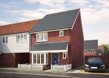 Thumbnail 3 bed end terrace house for sale in Keepers Cottage Lane, Off Hall Road, Wouldham, Kent