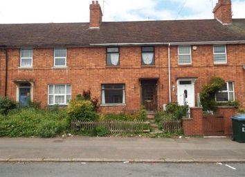 Thumbnail 3 bed terraced house for sale in Engleton Road, Radford, Coventry