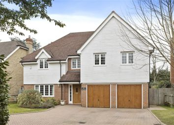 Thumbnail 6 bed detached house for sale in The Paddocks, Weybridge, Surrey