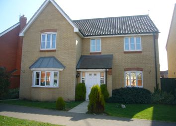 Thumbnail 4 bedroom detached house to rent in Jenner Road, Gorleston, Great Yarmouth