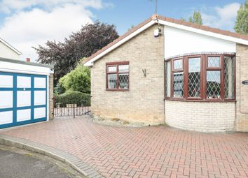 Thumbnail 2 bed detached bungalow for sale in Thoresby Avenue, Clowne, Chesterfield