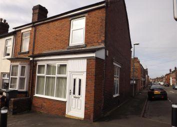 Thumbnail 2 bedroom end terrace house for sale in Macclesfield Street, Burslem, Stoke-On-Trent