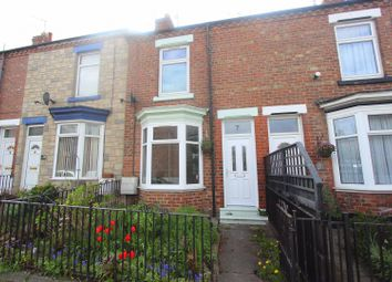 Thumbnail 2 bed terraced house to rent in Hollyhurst Road, Darlington