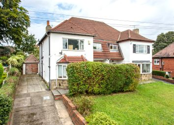 Thumbnail 4 bed semi-detached house for sale in Harrogate Road, Leeds, West Yorkshire