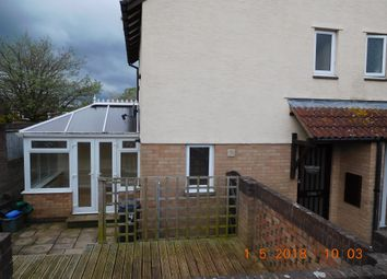Thumbnail 2 bed end terrace house to rent in Hornbeam Close, Honiton