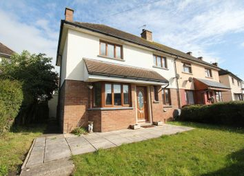 Thumbnail 3 bed semi-detached house for sale in Porthkerry Road, Rhoose, Barry
