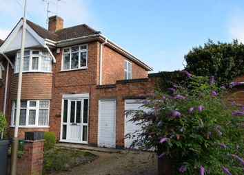 Thumbnail 3 bed semi-detached house to rent in Uppingham Road, Leicester