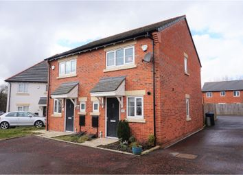 Thumbnail 2 bed semi-detached house for sale in Bannister Court, Shevington, Wigan
