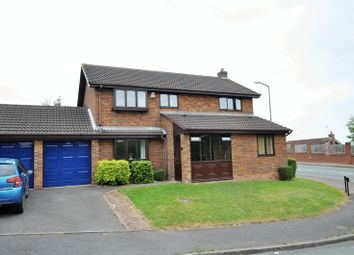 Thumbnail 4 bed detached house for sale in Ashdale Close, Stapenhill, Burton-On-Trent