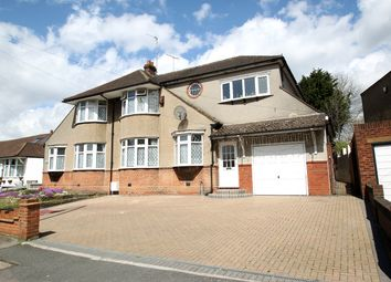 Thumbnail 4 bedroom semi-detached house for sale in Whitehall Road, Chingford
