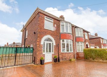 Thumbnail 3 bed semi-detached house for sale in Hollyhedge Road, Manchester