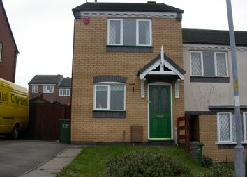 Thumbnail 2 bed shared accommodation to rent in Holt Crescent, Cannock