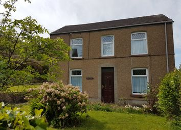 Thumbnail 4 bedroom detached house for sale in Park Road, Penclawdd, Swansea
