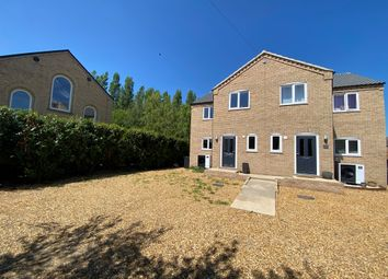 Thumbnail 3 bed semi-detached house for sale in Downham Road, Salters Lode, Downham Market