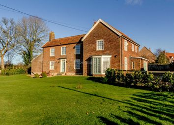 Thumbnail 6 bed detached house for sale in The Street, Sporle, King's Lynn