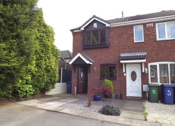 Thumbnail 2 bed end terrace house to rent in Turner Close, Heath Hayes