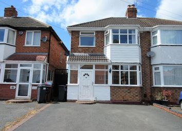 Thumbnail 3 bed semi-detached house for sale in Scott Road, Solihull