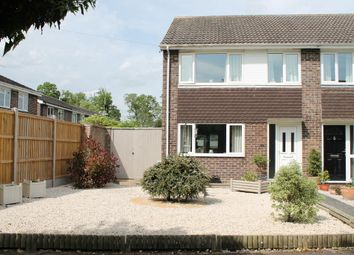 Thumbnail 3 bedroom end terrace house for sale in Church Close, Roydon, Diss