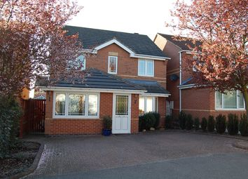 Thumbnail 4 bed detached house to rent in Kelvedon Drive, Littleover, Derby