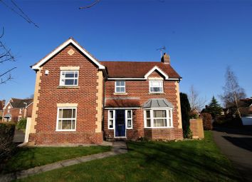 Thumbnail 4 bed detached house for sale in Armistead Way, Cranage, Crewe
