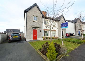 Thumbnail 3 bed semi-detached house for sale in Coopers Mill Court, Dundonald, Belfast