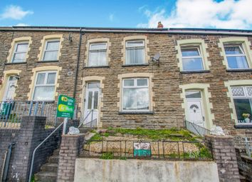 Thumbnail 3 bedroom terraced house for sale in Glancynon Street, Mountain Ash