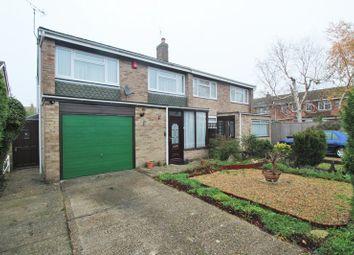Thumbnail 3 bed semi-detached house for sale in Bourton Close, Tilehurst, Reading