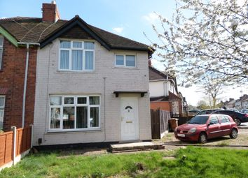 Thumbnail 3 bed property to rent in Sycamore Road, Walsall, West Midlands