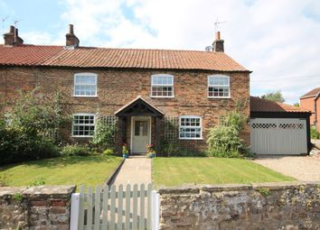 Thumbnail 4 bedroom semi-detached house for sale in Sinderby, Thirsk