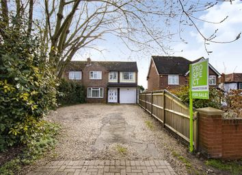 Thumbnail 4 bed semi-detached house for sale in School Road, Barkham, Wokingham, Berkshire