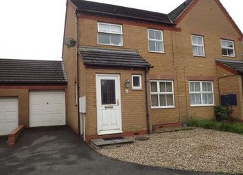 Thumbnail 3 bed property to rent in Durham Close, Bracebridge Heath, Lincoln