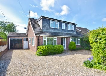Thumbnail 4 bed semi-detached bungalow for sale in North Croft, East Hagbourne, Didcot
