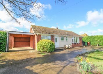 Thumbnail 2 bed bungalow for sale in Common Road, Aldeby, Beccles