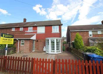Thumbnail 2 bed semi-detached house for sale in Hunter Road, Brookenby