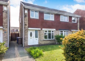 Thumbnail Semi-detached house for sale in Sudbury Way, Cramlington