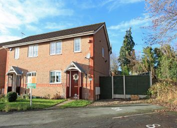 Thumbnail 2 bed semi-detached house for sale in 8A Magpie Way, Aqueduct, Telford