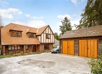 Thumbnail 4 bed detached house for sale in Furze Hill Road, Headley Down, Hampshire