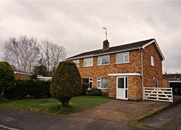 Thumbnail 3 bed semi-detached house for sale in The Headland, East Goscote